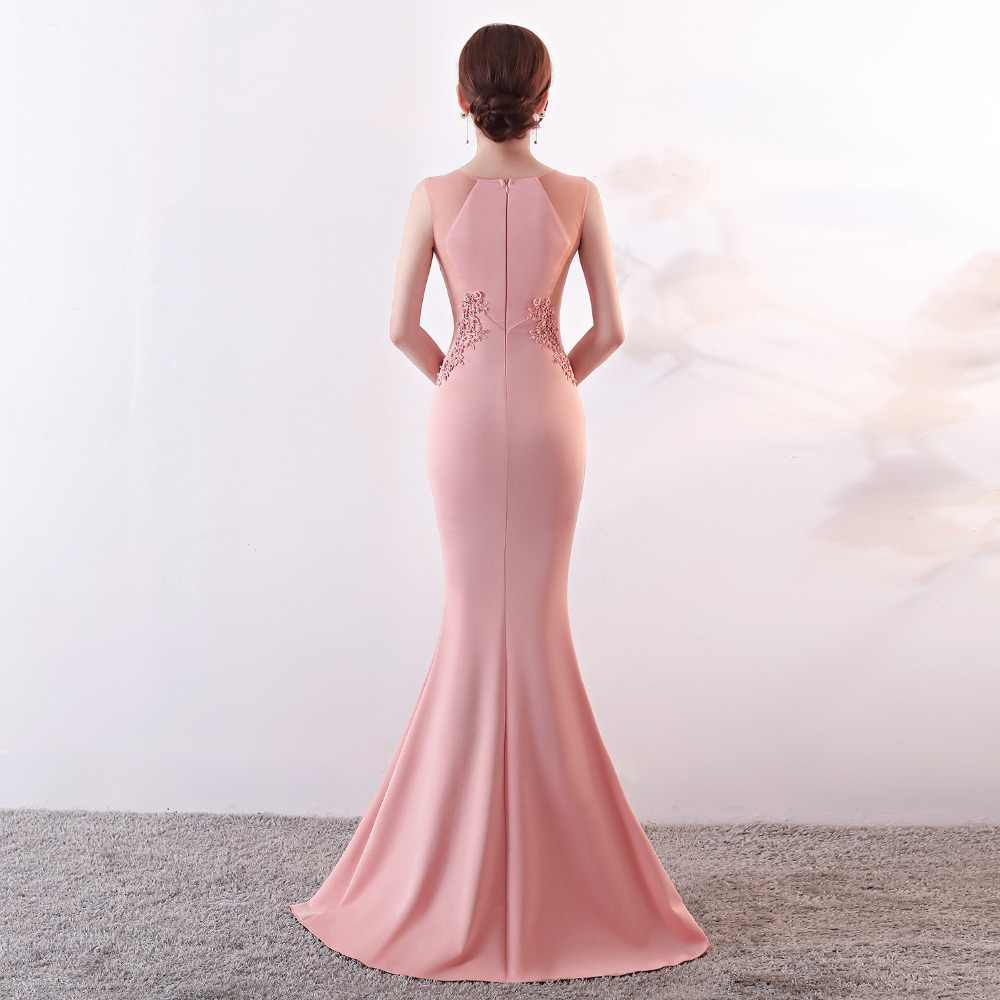 ... long evening dresses CX SHINE Lace flowers beading sexy mermaid trumpet  long prom party dress elasticity d3c3d7bdbc86