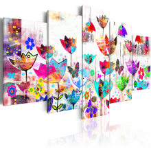5 pieces/set Butterfly Poster Series Picture Print Painting On Canvas Wall Art Home Decor Living Room Canvas Art PJMT-B (164)(China)