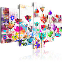 5 pieces/set Butterfly Poster Series Picture Print Painting On Canvas Wall Art Home Decor Living Room Canvas Art PJMT B (164)