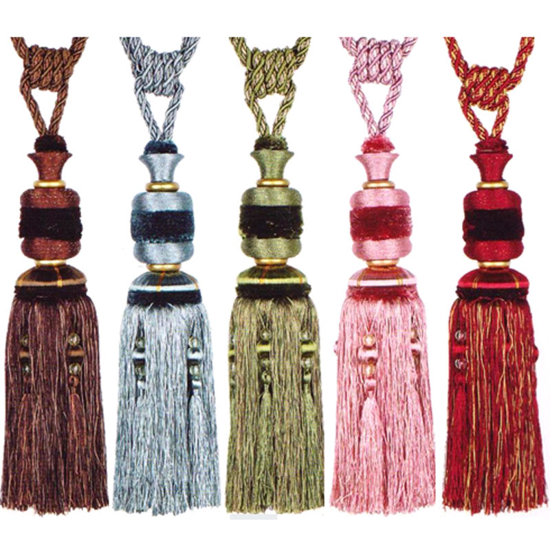 Color Home Decoration Door <font><b>curtain</b></font> Tie back accessories Hang Belt Ball <font><b>curtain</b></font> strap Special <font><b>Curtain</b></font> Tassel Buckle Rope 1 pair