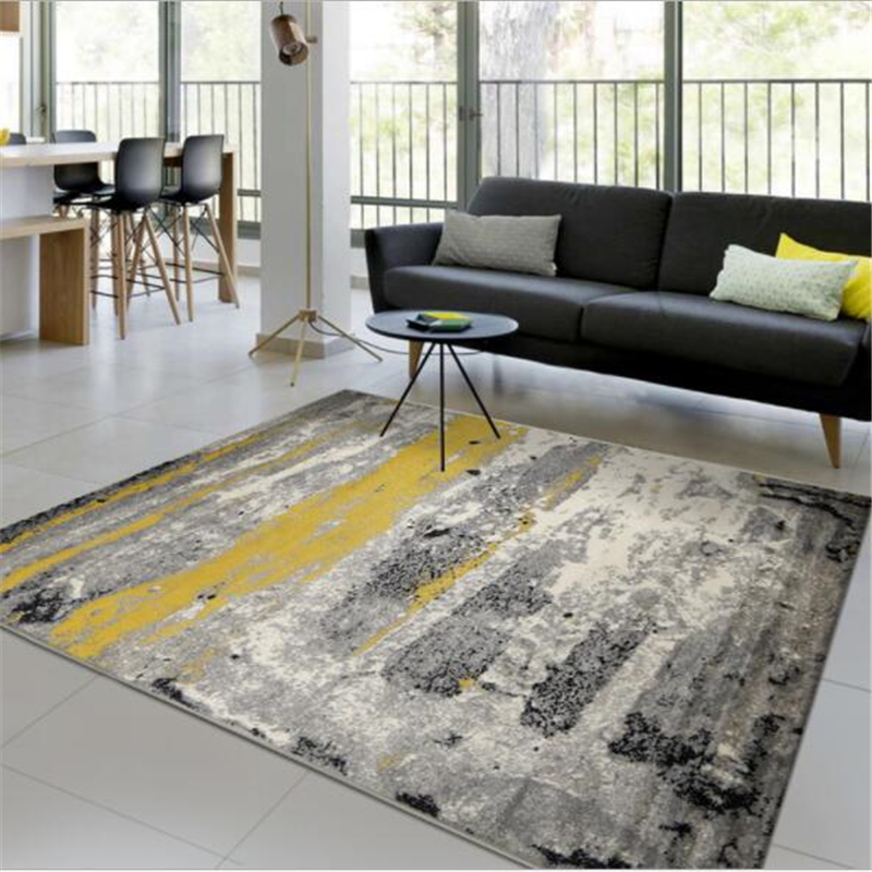 PP Thicker Soft Large Carpets For Living Room Bedroom Kid Room Rugs Home Carpet Floor Door Mat Simple New Fashion Area Rug Mats