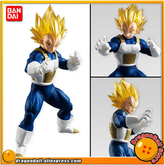 "Japão Anime ""Dragon Ball Z"" Original BANDAI Tamashii Nations STYLING SHOKUGAN Vol.5 PVC Toy Figura-Super Saiyan vegeta"