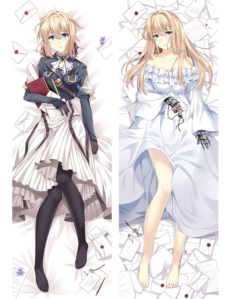 Violet Evergarden full Anime Manga two sides Pillow Cushion Case Cover 621 A