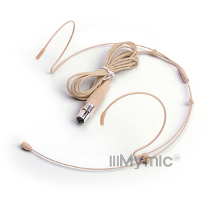Image 2 - iiiMymic H 21S2 4 Condenser Headworn Headset Microphone For Shure Wireless Body Pack Transmitter mini 4pin XLR TA4F Connector