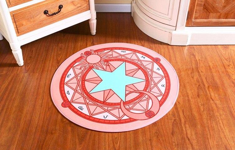 Roze Slaapkamer Stoel : Kids slaapkamer tapijt cartoon roze sakura magic cirkel kinderen