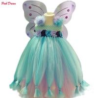 POSH DREAM Princess Cosplay Inspired Tutu Dress Toddler Girl Halloween Costume Sesame Street Fairy Princess Kids Girls Dresses