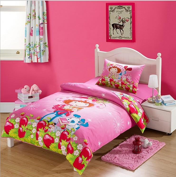100% cotton Bedding set cartoon Printing Minions bedclothes Baby children kids bed linen duvet cover bed 3pcs set