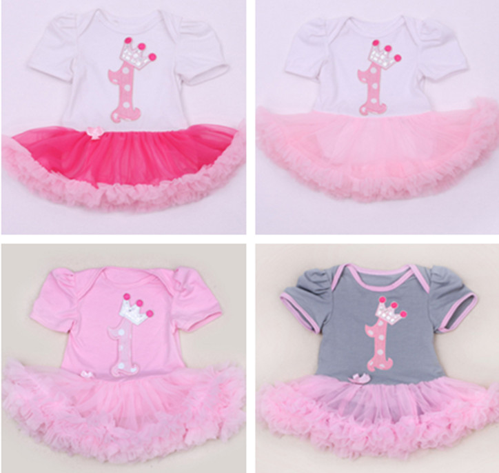 Cute Summer Cotton Baby Romper Newborn Gril Dress Short Sleeve Infant Jumpsuit One Piece Toodler Clothes Kids 1st Birthday Gifts