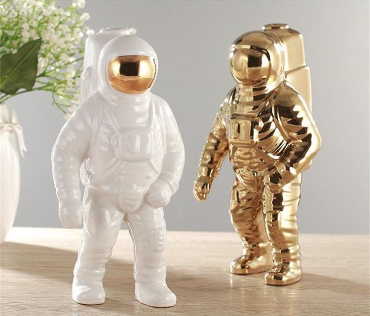 Astronauta Figura de Acción Estatuilla Estatua Escultura Decoración de Escritorio Juguete Regalo