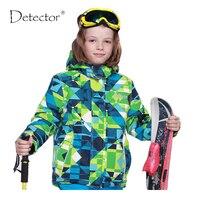 גלאי ילדי חורף בני מעיל סקי סנובורד windproof עמיד למים מעילי מעיל שלג לנשימה חמה חיצונית מעיל-במעילי סקי מתוך ספורט ובידור באתר