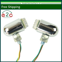 Pair Front Rear Motorcycle Turn Signal Led Light Bright Lamp Fits For HARLEY