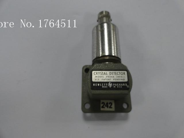 [BELLA] ORIGINAL P424A 12.4-18GHz 0.2dB WR62 WG-BNC Waveguide Detector.