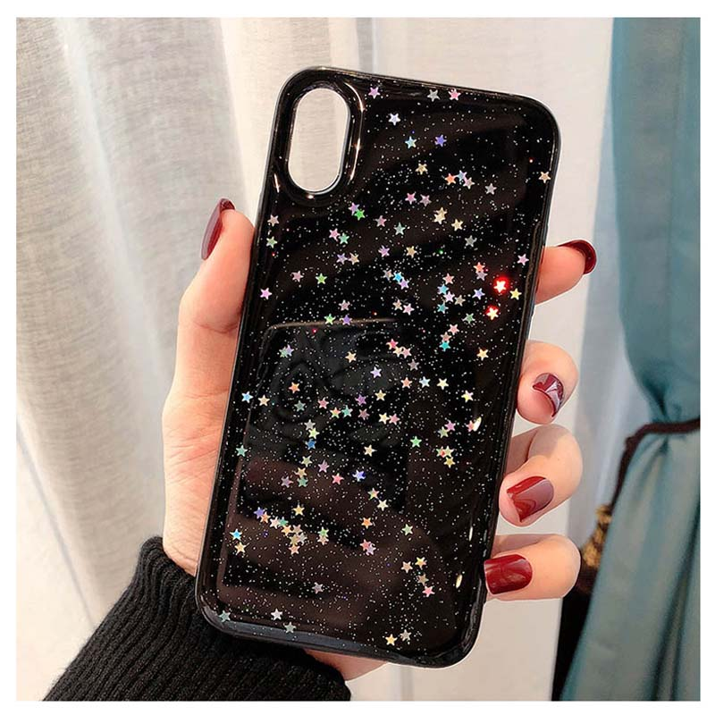 HTB188G2M6TpK1RjSZKPq6y3UpXaj - Lovebay Bling Star Glitter Soft TPU Phone Cases For iphone 11 Pro XS Max XR X 8 7 6 6S Plus 5S SE Powder Transparent Cover