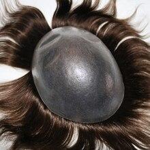 Eversilky нехирургических Для мужчин волос Системы 0,08-0,1 мм V цикл парик из тонкой кожи волосы заменить Для мужчин t Системы прямые волос Для мужчин s парики