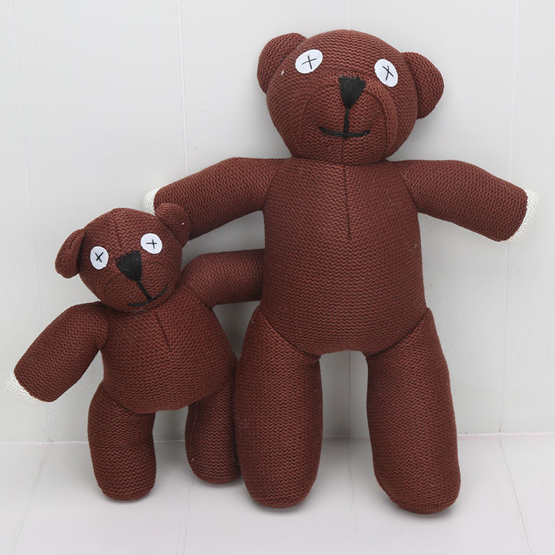 buy 25 35cm 10 14 39 39 cute mr bean teddy bear stuffed plush toy animals brown. Black Bedroom Furniture Sets. Home Design Ideas
