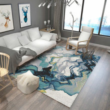 Nordic Geometry Carpet Modern Minimalist Living Room Coffee Table Bedroom Bedding Blanket Home Rectangular Mats
