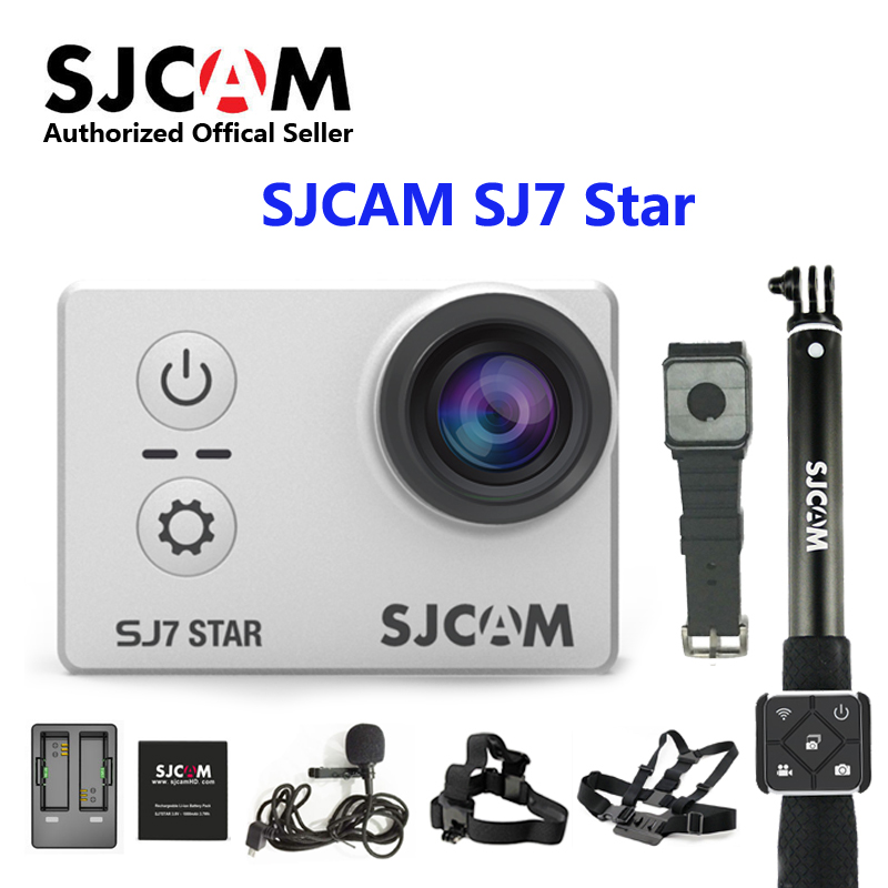 SJCAM SJ7 étoile wifi Ambarella A12S75 4 K 24fps Ultra HD caméra d'action étanche 2.0