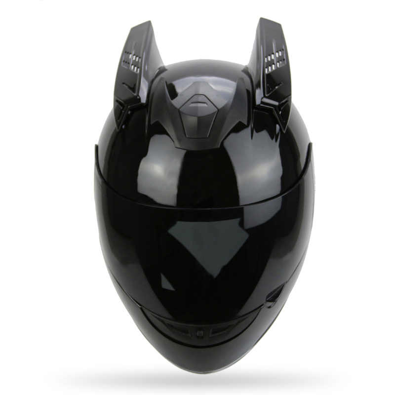 Motorcycle Helmet Horns Punk Style Scooter Motorbike Helmet Horn Moto Accessories For KTM AGV ICOM ARAI TANKED SHARK YOHE