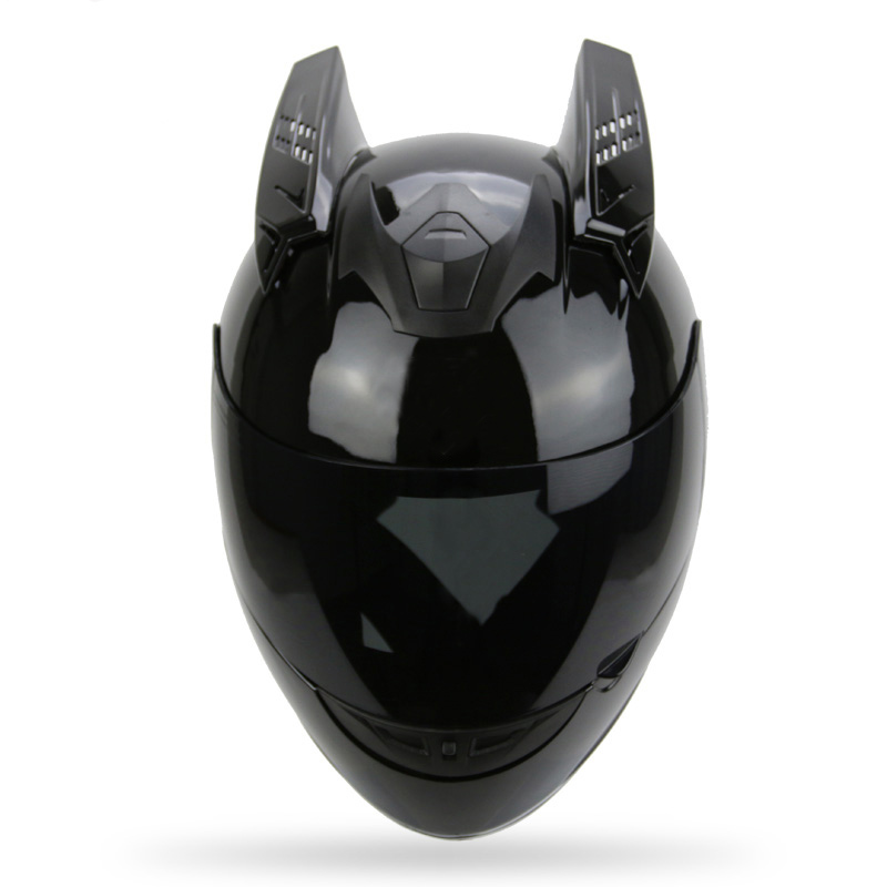 Motorcycle Helmet Horns Punk Style Scooter Motorbike Helmet Horn Moto Accessories For KTM AGV ICOM ARAI TANKED SHARK YOHE portable media player
