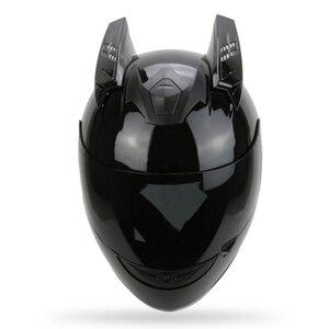 Motorcycle Helmet Horns Punk S
