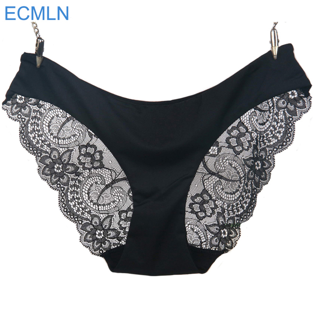2017 New arrival ECMLN women's sexy lace panties seamless panty briefs underwear intimates