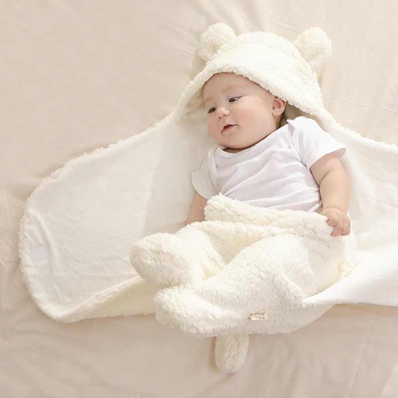 חדש רך תינוק שמיכות יילוד תינוקות תינוק ילד ילדה החתלה תינוק ישן לעטוף שמיכת צילום נכס עבור בני בנות ילד 0-12M