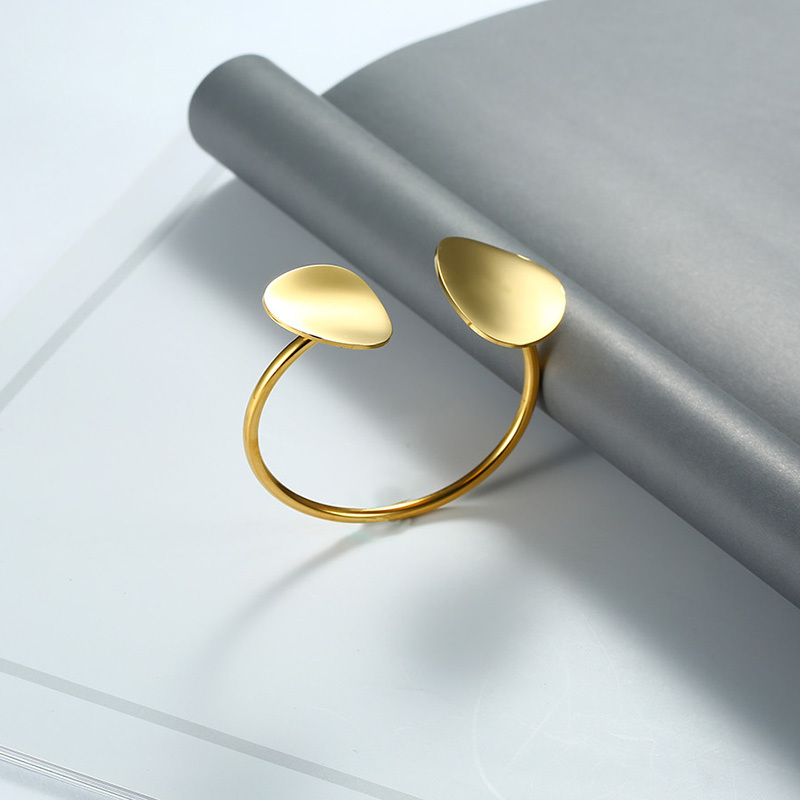 Stylish Unique Asymmetric Cuff Bangle  3