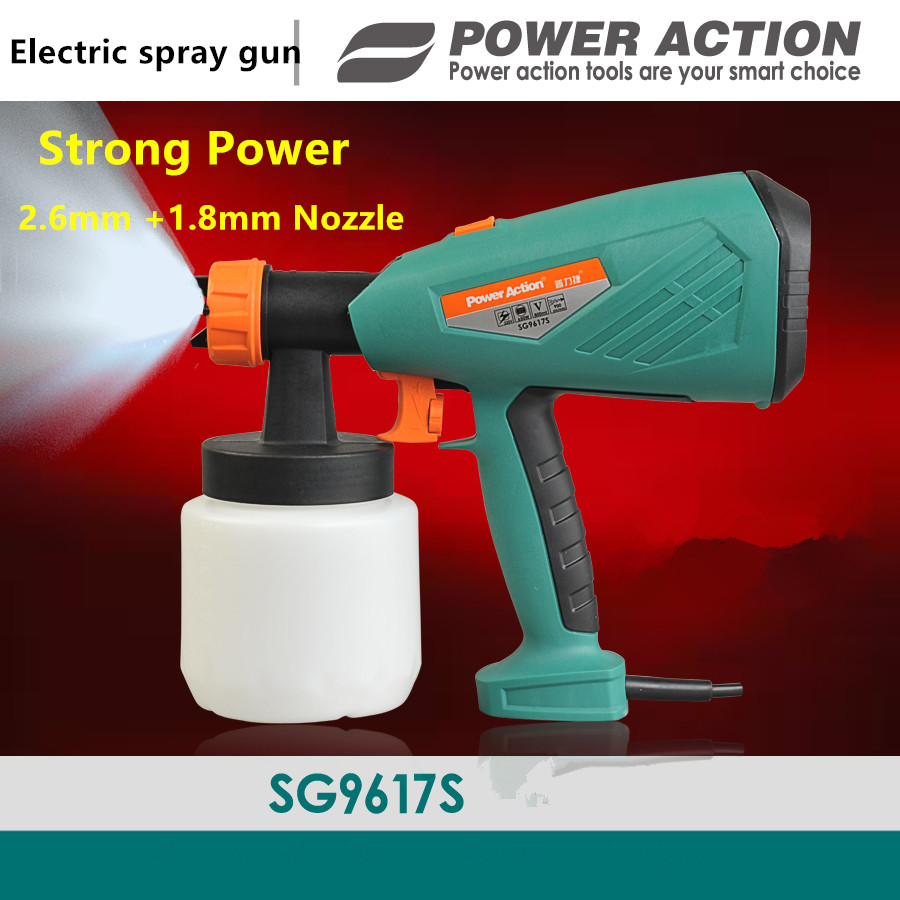 650w Electric Spray Gun Paint Spray Gun 800ml DIY electric spray gun HVLP sprayer with 1