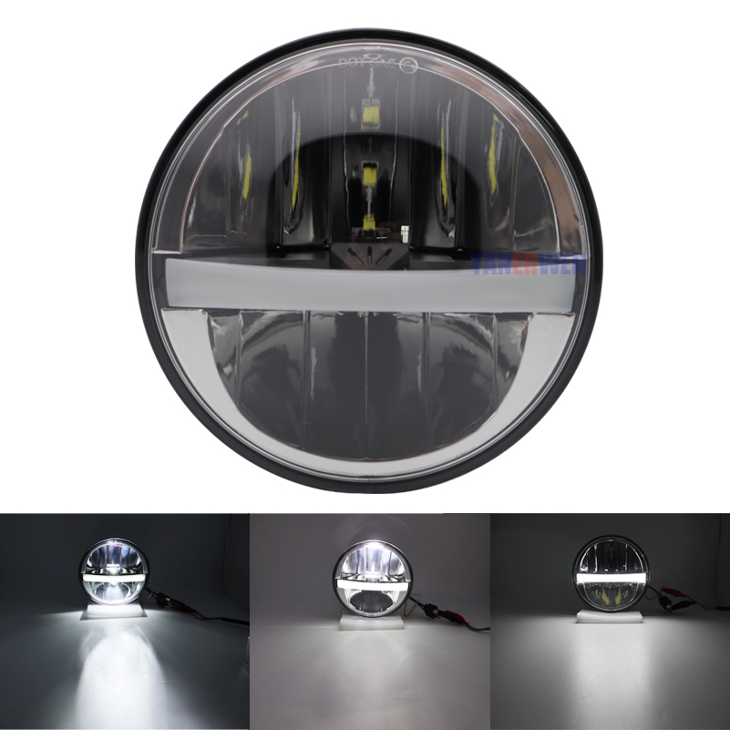 5.75 inch Motorcycle Projector LED Headlight for HONDA VTX 1300 1800  Motorcycles 5 3/4 Led Headlights