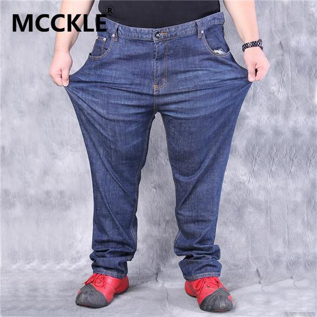 Aliexpress.com : Buy Super Big Mens Plus Size Jeans 50 52 54 56 58 ...