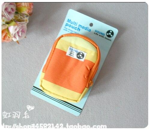 Portable digital bag camera bag yellow 55g
