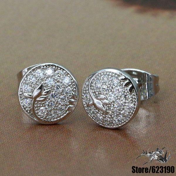 ⊱Wx-e012 925 серебро серьги, 925 серебряные ювелирные ...