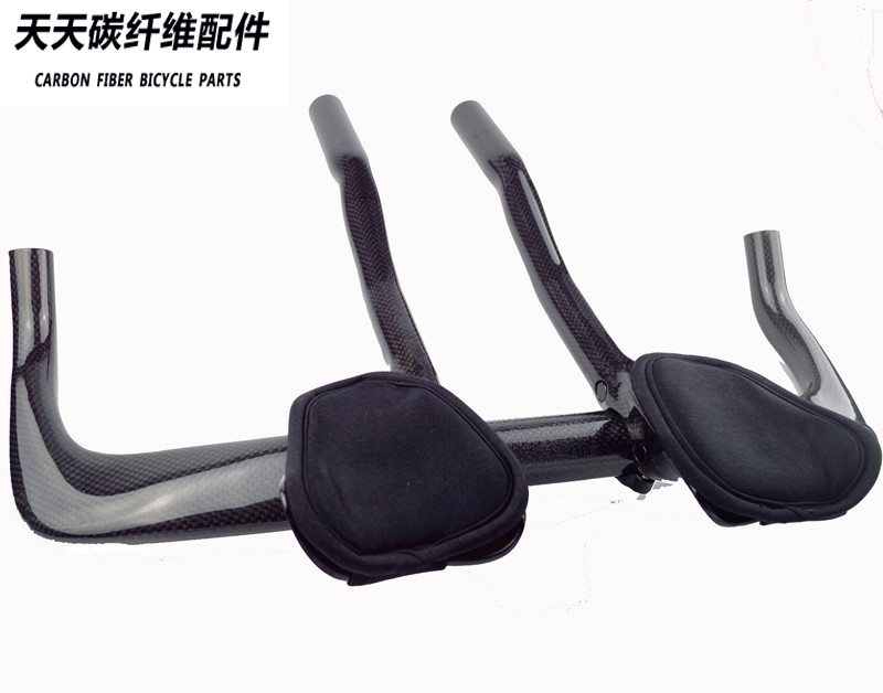 3k matte gloss Full Carbon Fiber Road Bicycle TT Bar Highway Rest Handlebar Aero Carbon TT Bike Trial Handle Bar Bicycle Parts comego full carbon fiber bicycle tt handlebar road bike rest handlebars bar 3k finish bicycle parts accessories 340mm