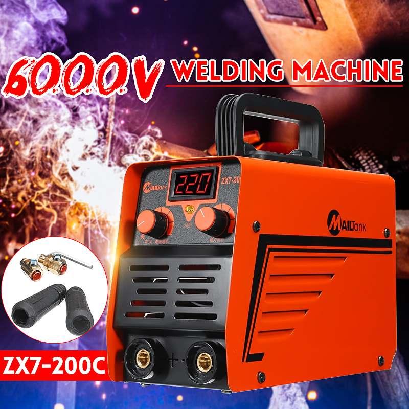 ZX7-200C Handheld IGBT Inverter MMA ARC Welding Mini Welder Machine 25-300A 220V