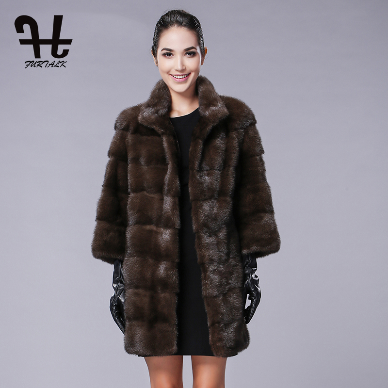 Aliexpress.com : Buy Furtalk winter women real mink fur coats ...