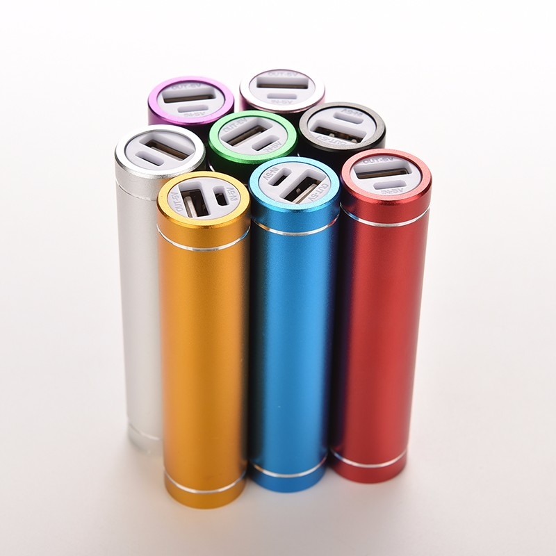 8Colors Portable18650Li-ion BatteryCharger