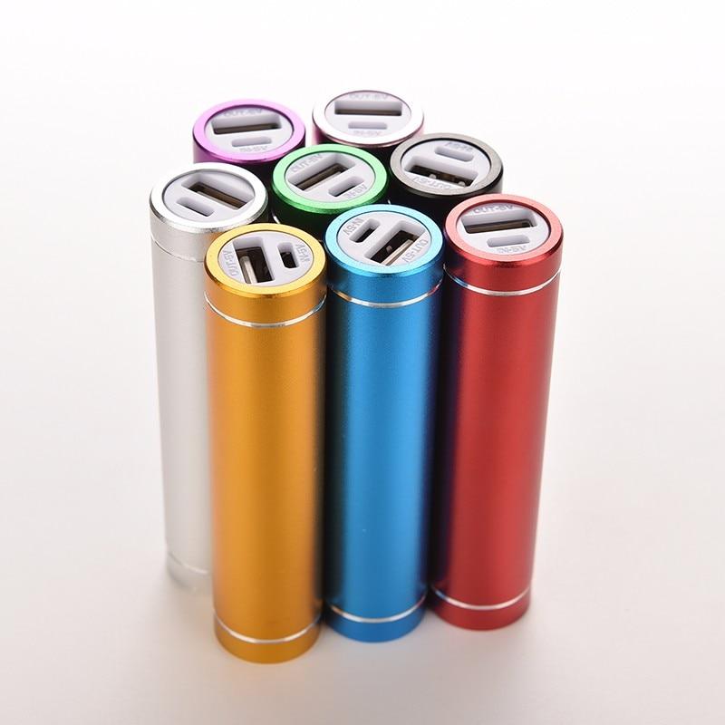 8Colors Portable18650Li-ion BatteryCharger