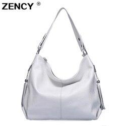 9 Colors 100% Genuine Leather Women Handbag First Layer Cow Leather long Handel Messenger Shoulder Bag Satchel White Pink Bags