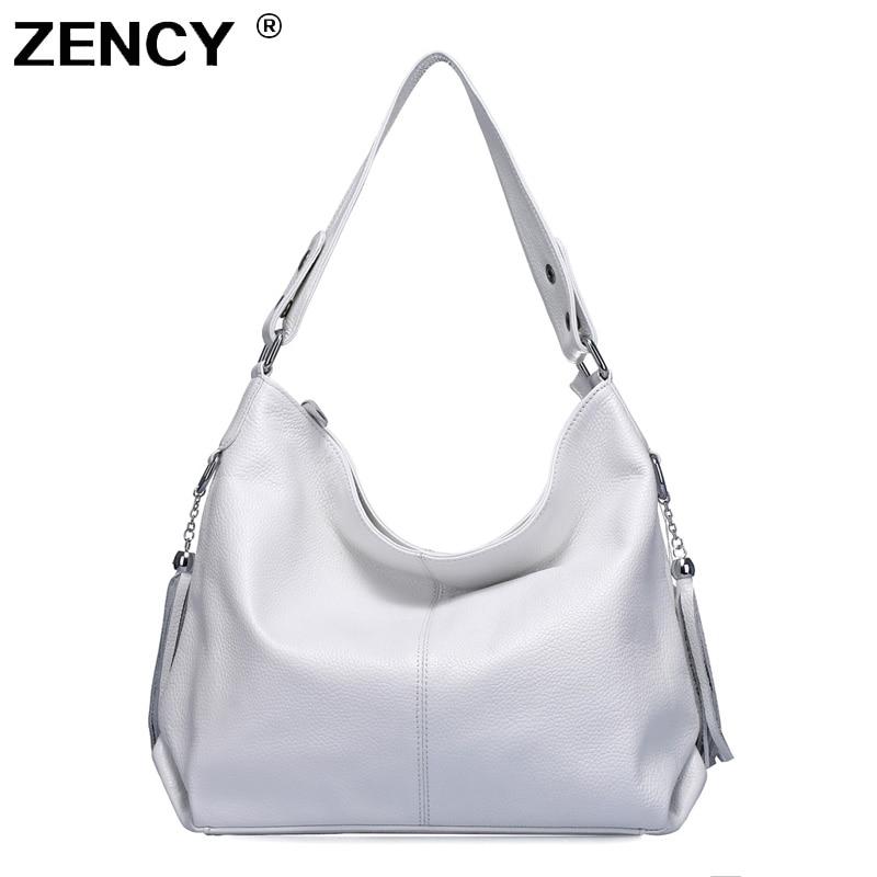 ZENCY 100% Soft Genuine Leather Women