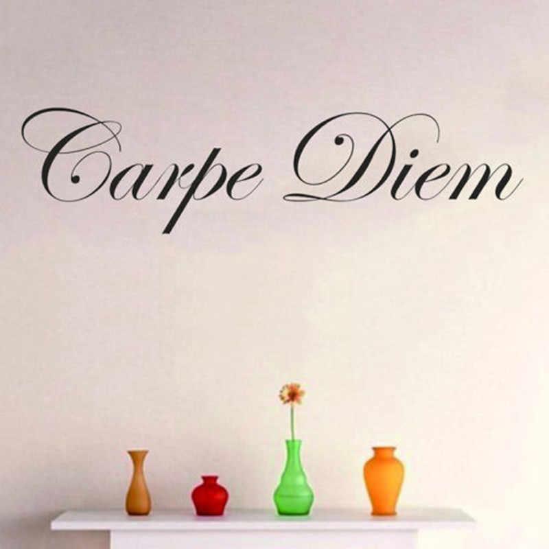 detail feedback questions about carpe diem wall decal words sticker