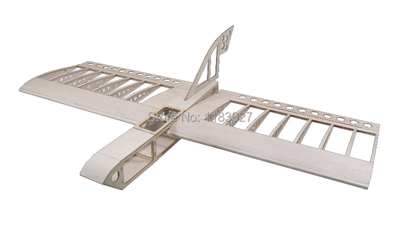 Free Shipping Balsa Wood Airplane Model DZ500 Wingspan 1020mm Balsa Kit Woodiness model /WOOD PLANE цена