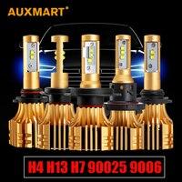 Auxmart H7 H11 H13 9005 HB3 9006 HB4 H4 Car Bulbs Led Headlight Kits Dipped Beam