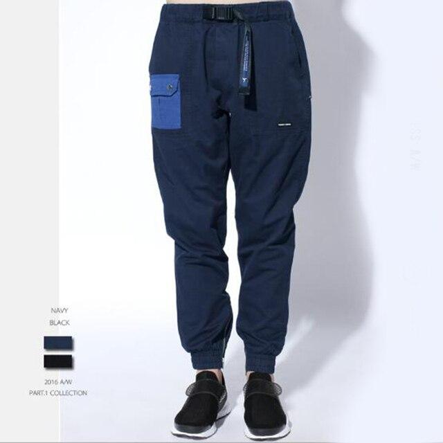 Las nuevas herramientas pies de cultiva su moralidad pantalones de ocio de la ciudad boy joggers pantalones de haroun pantalones de hombre
