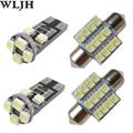 6x Branco 31mm Festão Levou W5W T10 Lâmpada De Cúpula Mapa Luzes Da Placa de licença Pacote Kit Para Suzuki Grand Vitara SX4 Reno XL-7