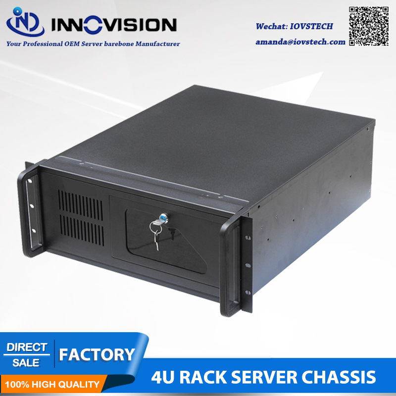 Industrial computer RC530 4Urack mount chassis/4U server case for industrial control etc. new 4u industrial computer case parkson 4u server computer case huntkey baisheng s400 4u standard computer case