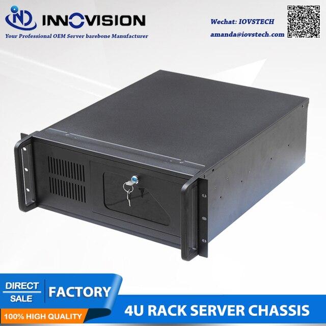 Промышленный компьютер RC530 4Urack mount chassis/4U Серверный корпус для промышленного управления и т. Д.