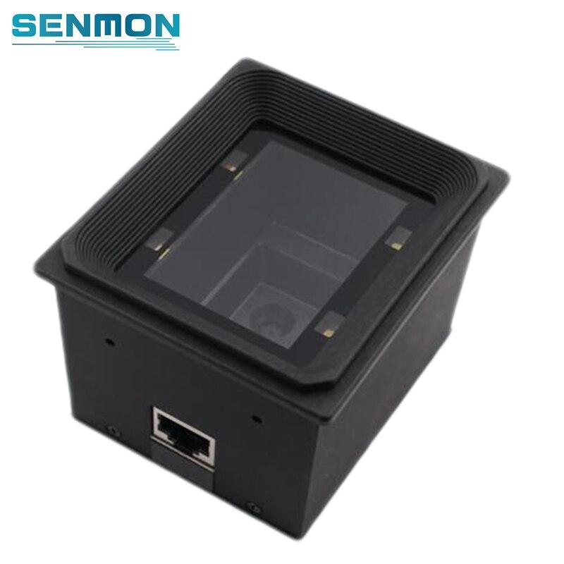 USB Wiegand 2D Motor Módulo de Scanner de código de Barras Fixo Montagem Incorporado Quiosque Leitor De Qr Code Para O Sistema de Controle De Acesso De Estacionamento