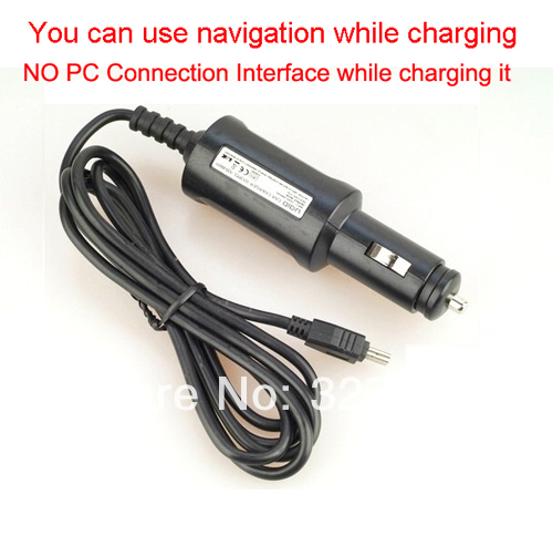 5V 1A MINI USB Car Charger  DC Power Adapter Cord For GARMIN nuvi 200 200w 205 205W 250 255 255W 260 270 GPS