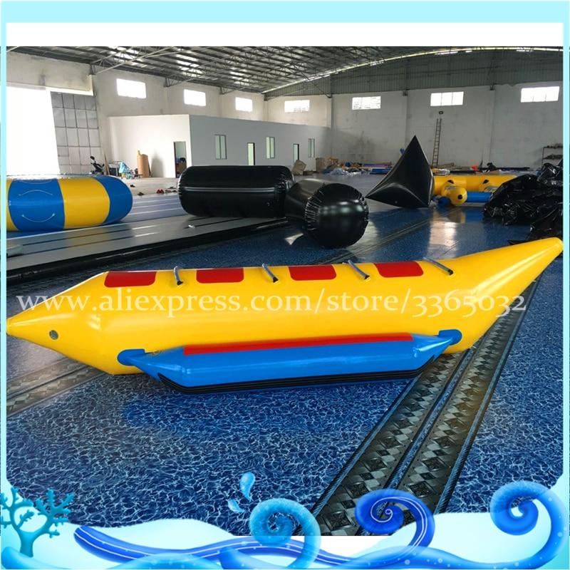 4 Locuri In aer liber gonflabile banane care zboară / apă - Sport și în aer liber