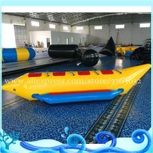 4 개의 좌석 야외 풍선 바나나 비행 보트 / 물 스포츠를위한 날아가는 물 풍선